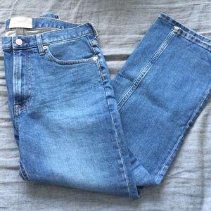 Everlane modern boyfriend jeans